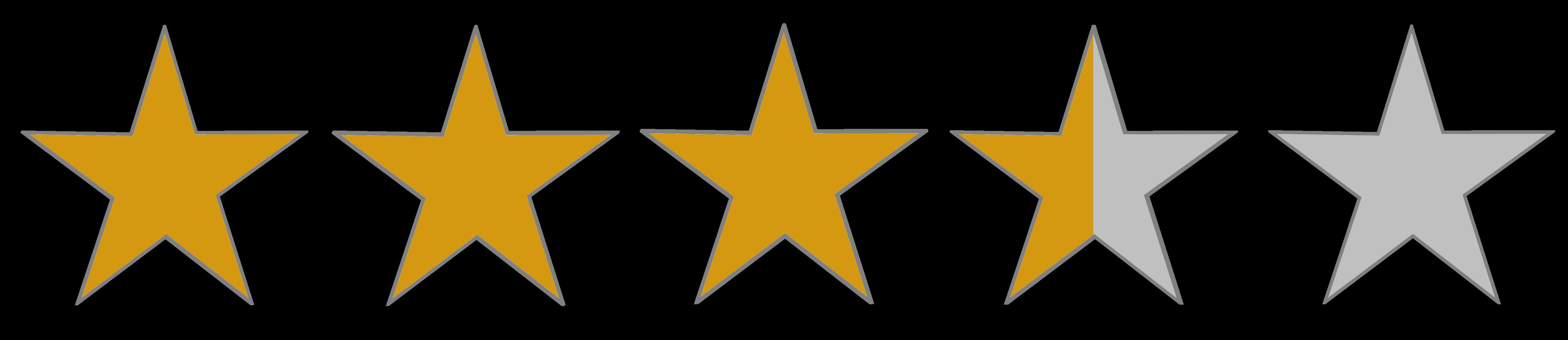 Image result for 3.9 rating transparent